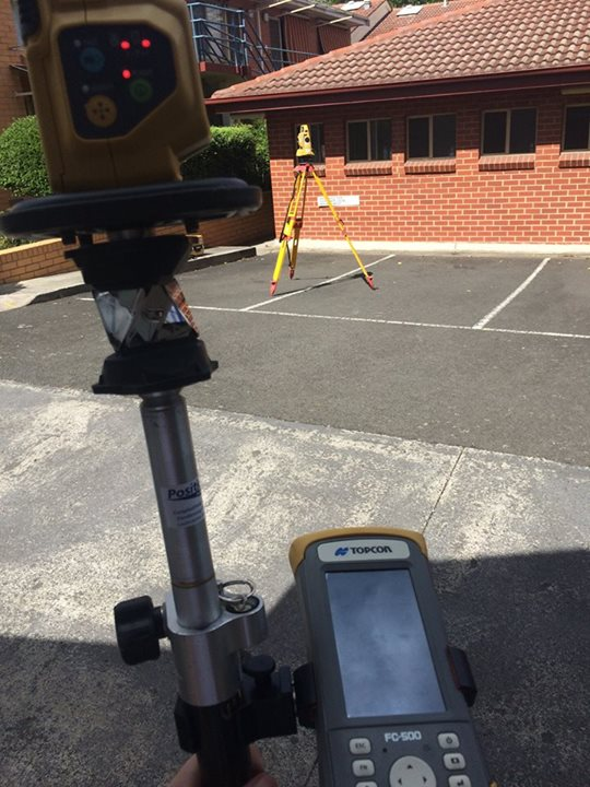 We use robotic total stations and RTK GPS units capable of mapping things to within a centimetre... or better.